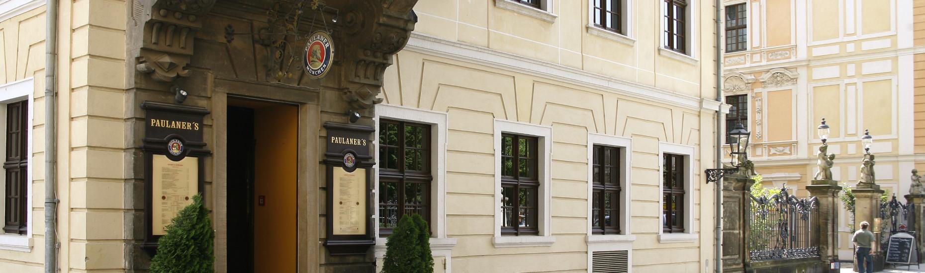 Eingang Dresden